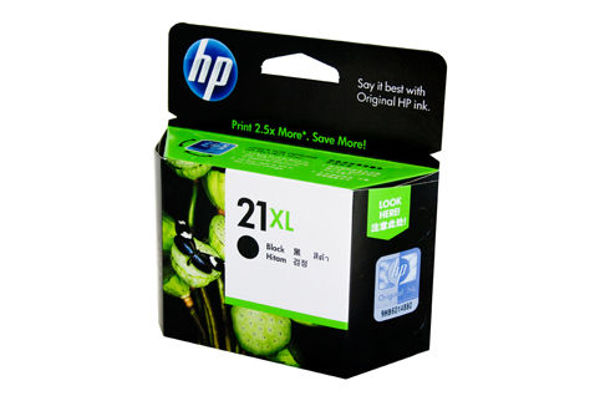 Picture of HP C9351CA #21 XL Black Ink
