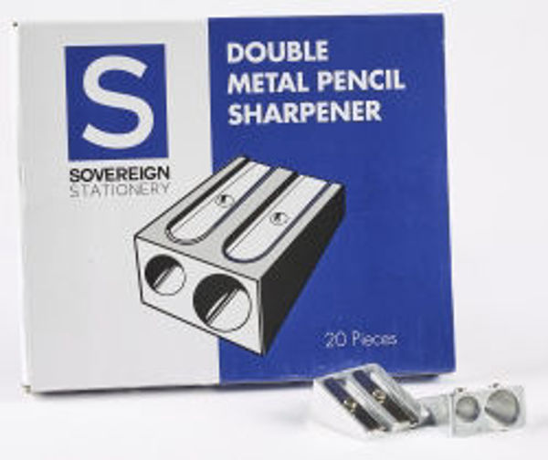 Picture of SHARPENER SOVEREIGN METAL DOUBLE