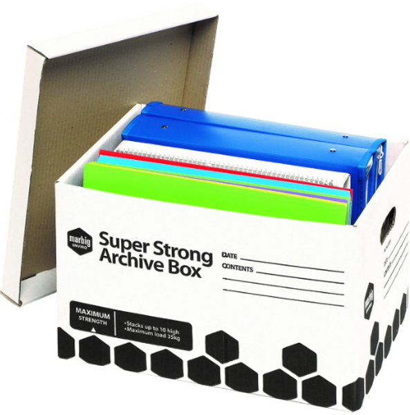 Picture of Archive Box Marbig Super Strong 80036