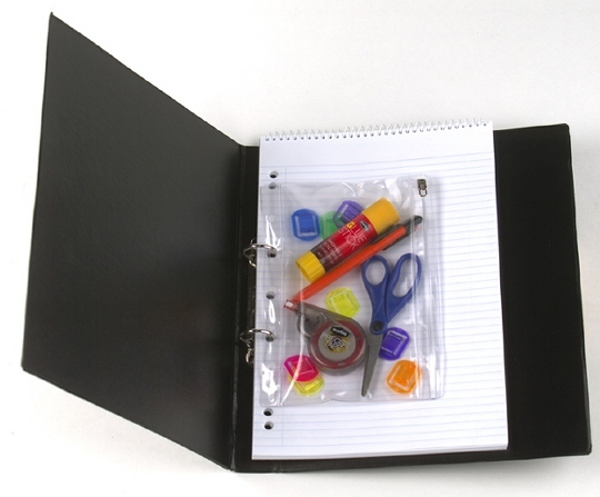 Picture of BINDERMATE PENCIL CASE A5 Pocket with Zi