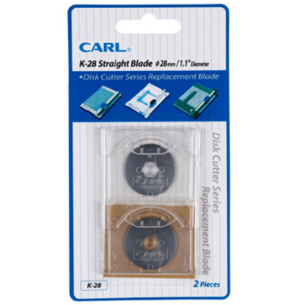 Picture of BLADE CARL STRAIGHT DISC CUTTER CARD 2 K