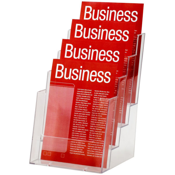 Picture of Brochure Holder Esselte A5 4 Tier Counte