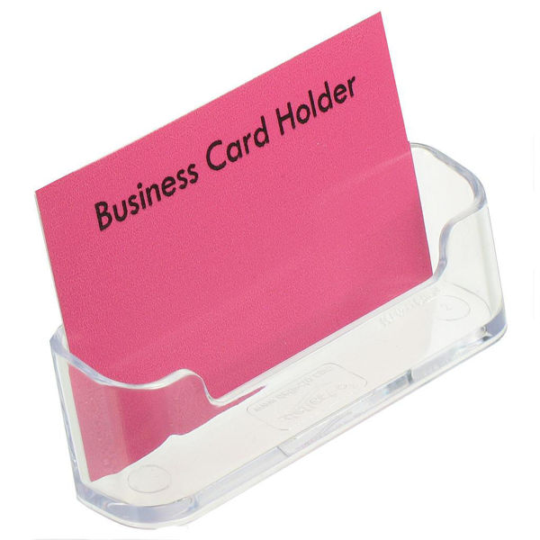 Picture of BUSINESS CARD HOLDER NOUVEAU CLEAR
