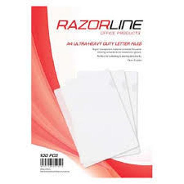 Picture of Razorline  A4 Ultra Heavy Duty letter files Pk 10